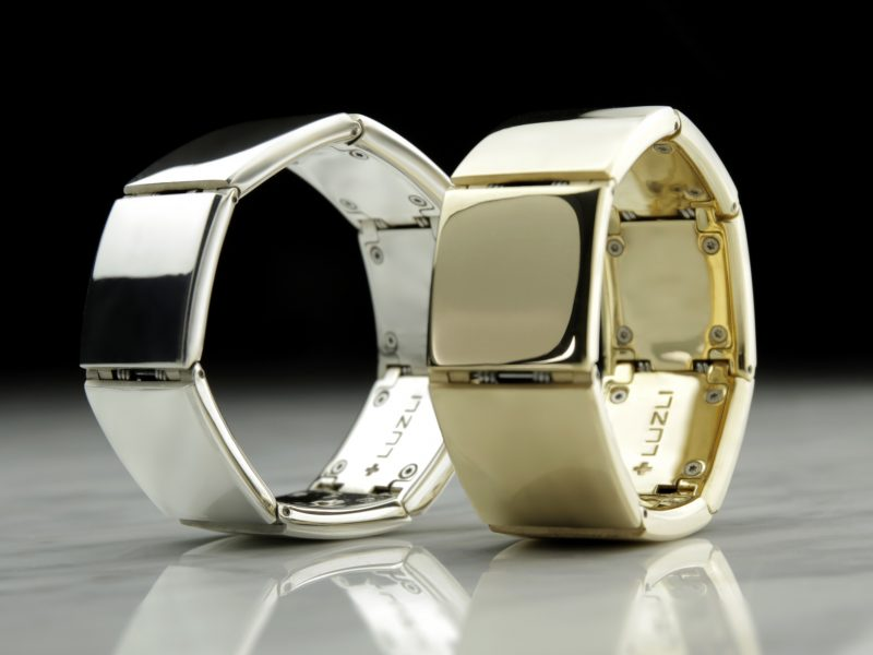 TT366 LUZLI BRACELET GOLD AND SILVER